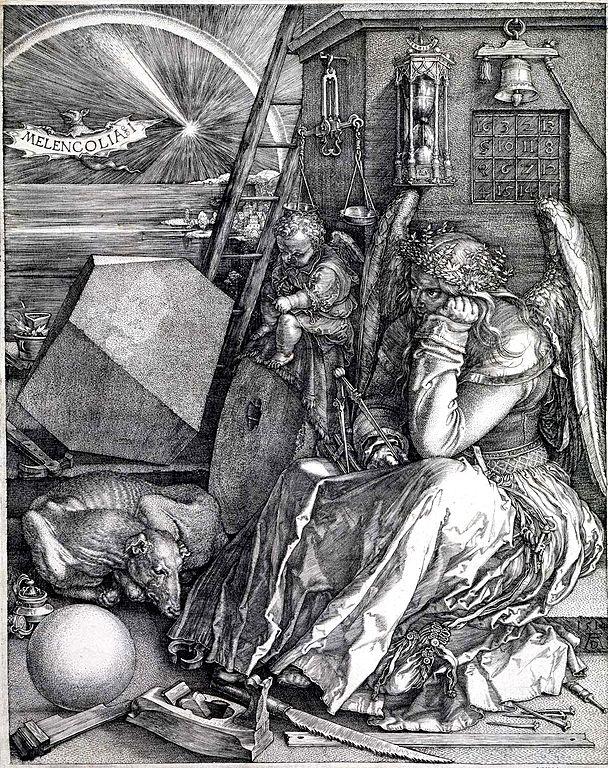 Albrecht Dürer. Melencolia I. 1514.
