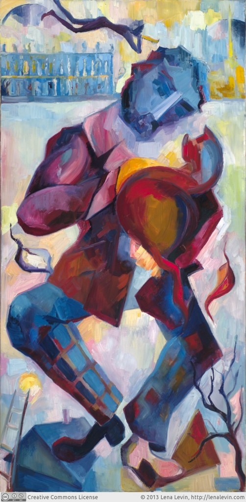 Lena Levin. A journey, or with you alone to cherish (after Marc Chagall and Bulat Okudzhava).