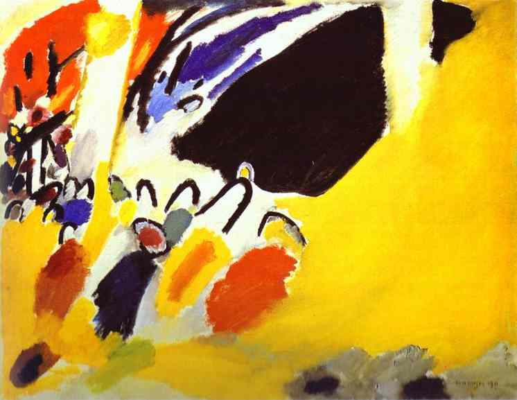 Wassily Kandinsky. Impression-III. Concert. 1911.