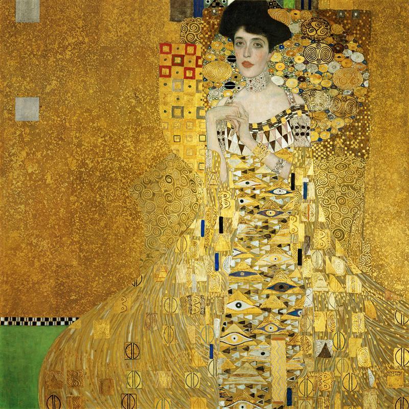 Gustav Klimt. Portrait Of Adele Bloch-Bauer I. 1907