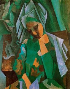 Pablo Picasso. Queen Isabella. 1908