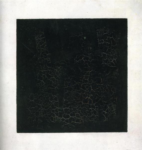 Kazimir Malevich. Black square. 1915.