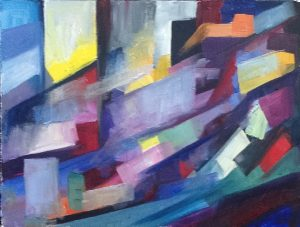 Lena Levin. Colour study for sonnet 89